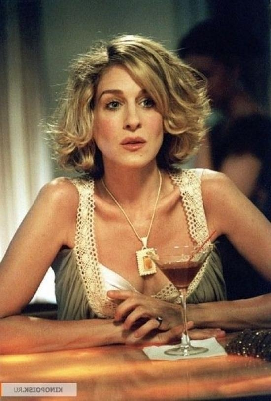 Carrie Bradshaw Short Hair | Sarah Jessica Parker As Carrie With Regard To Sarah Jessica Parker Short Hairstyles (View 3 of 20)