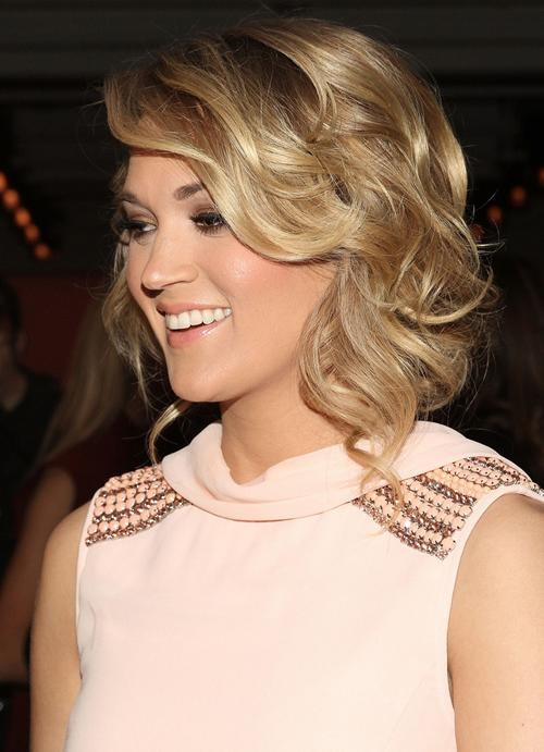 Carrie Underwood Short Hairstyles | Hair Style And Color For Woman For Carrie Underwood Short Hairstyles (View 15 of 20)