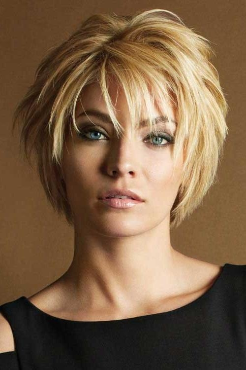 Casual Layered Hairstyles For Short Hair 500×750 Pixeles Regarding Short Haircuts With Lots Of Layers (View 16 of 20)