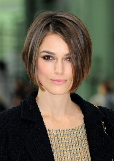 Celebrities With Impeccable Short Hairstyles Pertaining To Keira Knightley Short Haircuts (View 13 of 20)