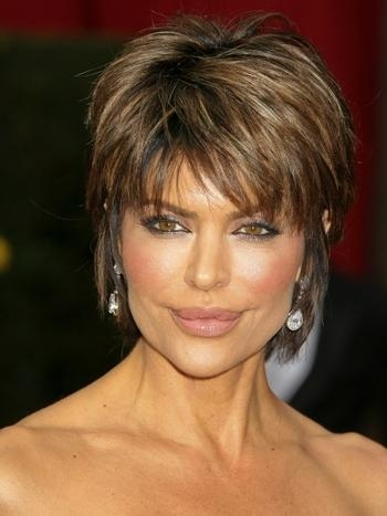 Celebrity Medium Short Hairstyles | 2017 Haircuts, Hairstyles And Within Choppy Short Hairstyles For Thick Hair (View 12 of 20)