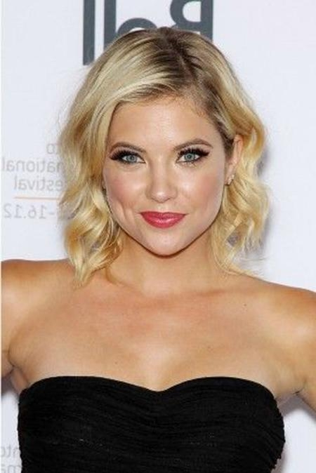 Celebrity Short Hair Pictures | Short Hairstyles 2016 – 2017 Within Short Haircuts With One Side Longer Than The Other (View 12 of 20)