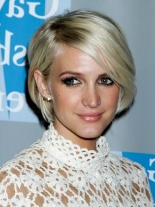 Celebrity Short Hair Styles For Women 2012 Pertaining To Ashlee Simpson Short Haircuts (View 17 of 20)