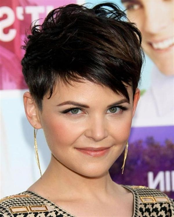 Celebrity Short Haircut For Round Faces Hairstyles Portal In Short Short Haircuts For Round Faces (View 16 of 20)
