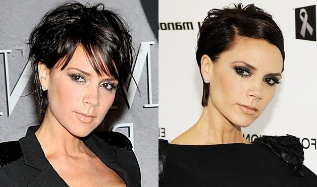 Celebrity Short Hairstyles | Aelida With Regard To Posh Short Hairstyles (View 4 of 20)