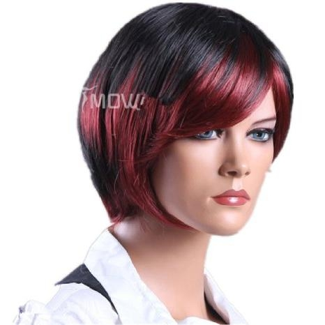 Cheap Red Highlights Short Hair, Find Red Highlights Short Hair Pertaining To Short Hairstyles With Red Highlights (View 10 of 20)