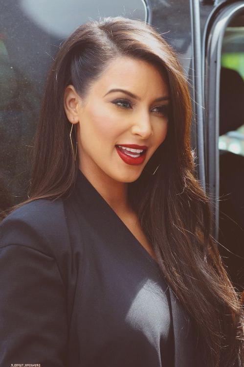 Chimakadharoka2012: Kim Kardashian Hairstyles Inside Kim Kardashian Short Haircuts (View 8 of 20)