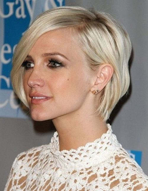 Classic Short Bob Hairstyles For Square Faces – Cool & Trendy Intended For Short Hairstyles For Square Face (View 17 of 20)