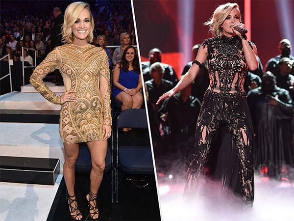 Cmt Awards 2016: Carrie Underwood Shows Off Shortest Haircut Yet Throughout Carrie Underwood Short Haircuts (View 17 of 20)
