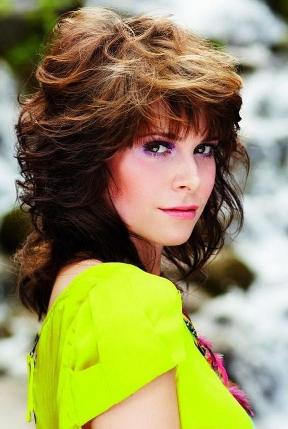 Collection Of Feather Cut Hair Styles For Short, Medium And Long Hair In Hippie Short Hairstyles (View 16 of 20)