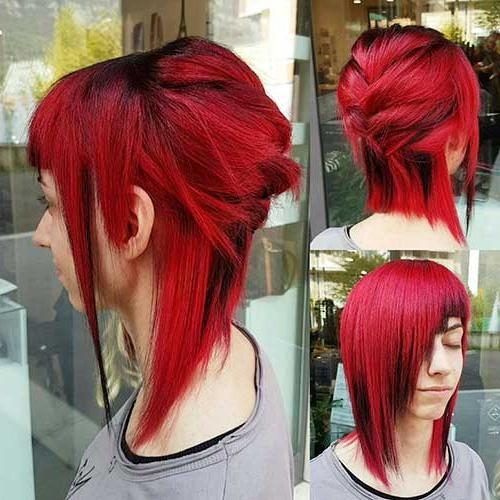Cool And Stylish Short Hairstyles For Girls | Short Hairstyles In Bright Red Short Hairstyles (View 15 of 20)