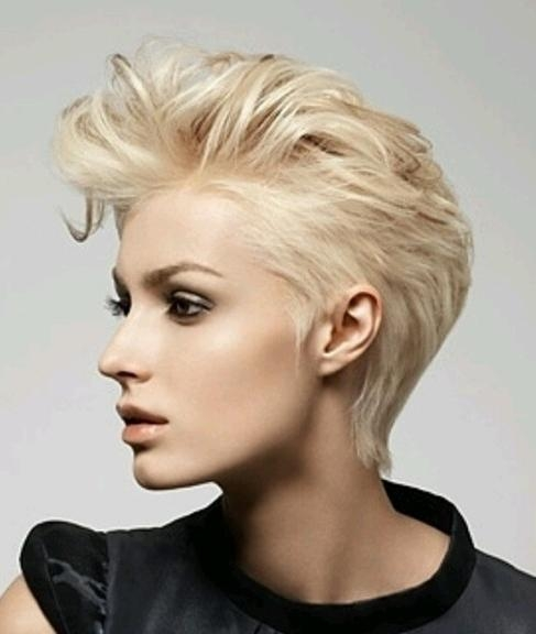 Cropped Pixie Haircut: Short Hairstyles For Fine Hair – Popular In Cropped Short Hairstyles (View 12 of 20)