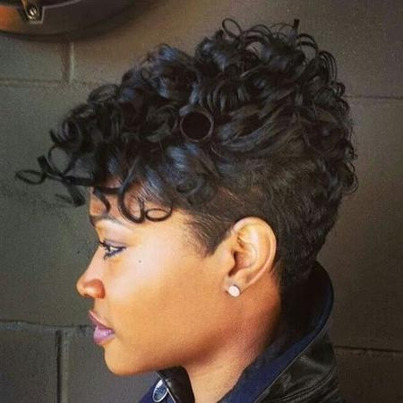 Curly Short Hairstyles For Black Women – Hair World Magazine Regarding Curly Short Hairstyles Black Women (View 12 of 20)