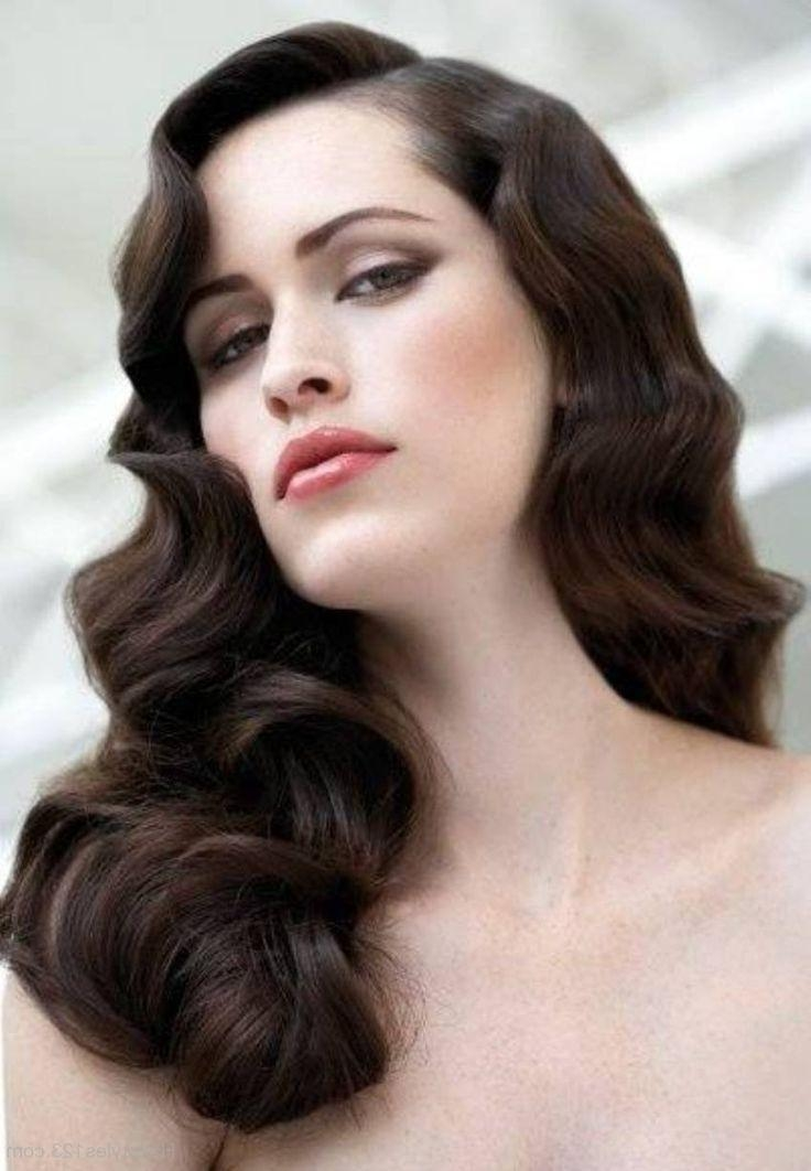 Photo Gallery Of 20s Long Hairstyles Viewing 2 Of 20 Photos