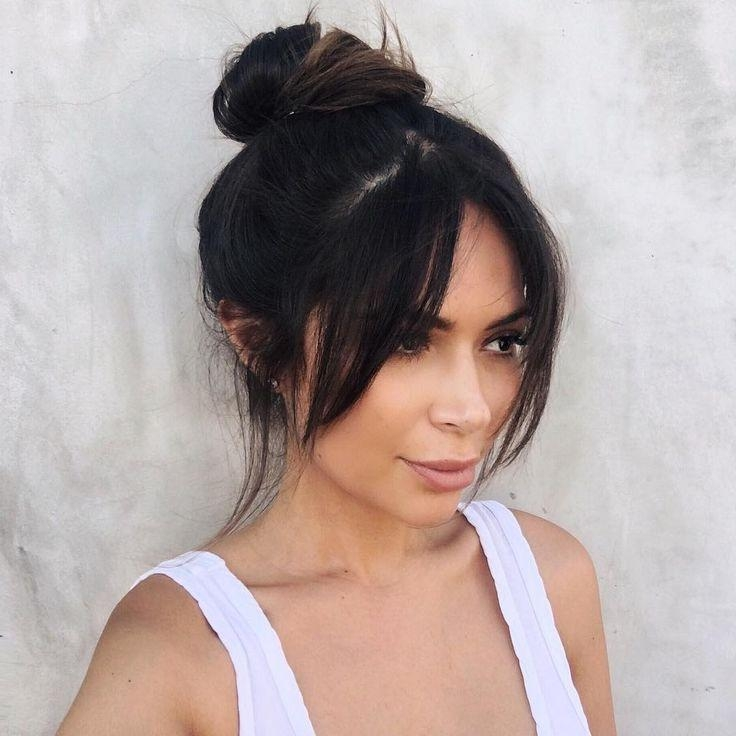 Current Bangs Long Hairstyles With Regard To Best 25+ Bangs Long Hair Ideas On Pinterest | Fringe Bangs, Long (View 5 of 20)
