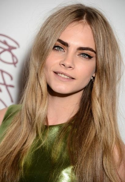 Current Celebrity Long Haircuts Regarding Smooth, Tousled Long Hairstyles 2013 – Popular Haircuts (View 6 of 15)
