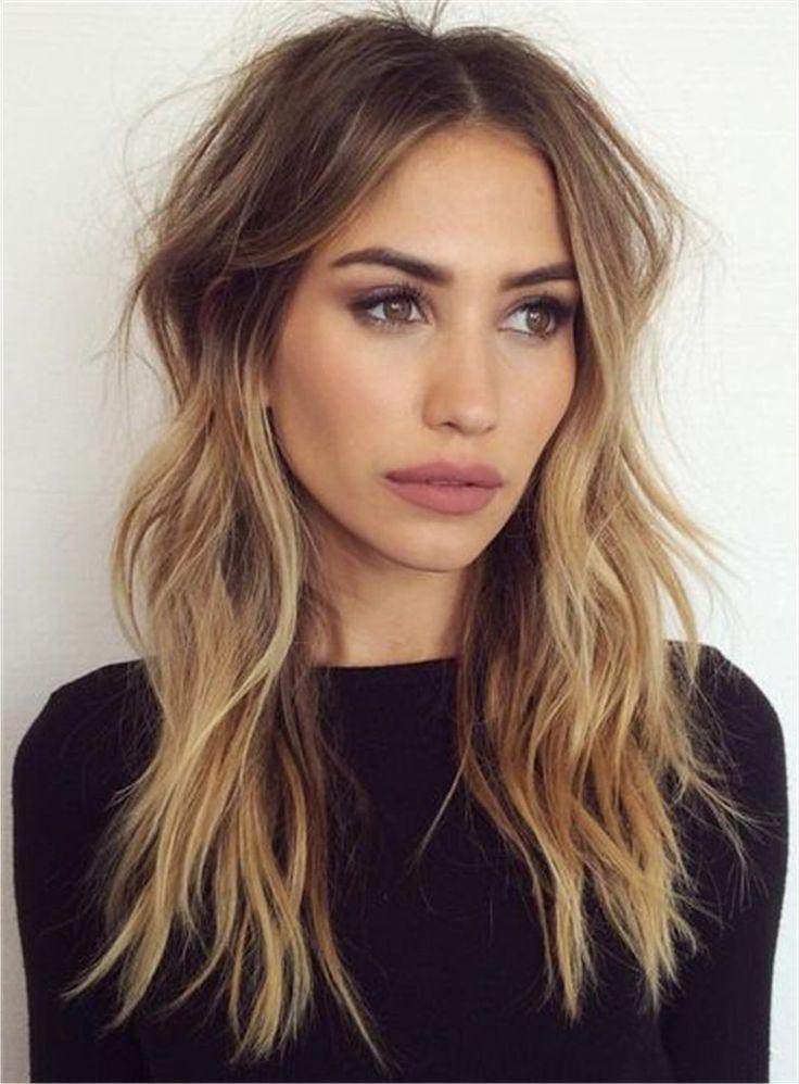 Current Center Part Long Hairstyles Regarding 25+ Unique Middle Part Hairstyles Ideas On Pinterest | Middle Part (View 8 of 20)