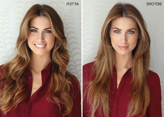 Current Face Framing Long Hairstyles Inside Best 25+ Face Frame Layers Ideas On Pinterest | Face Framing (View 8 of 20)