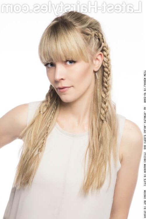 Current Fringe Long Hairstyles Pertaining To 44 Best Long Hair With Bangs For Women In (View 10 of 20)