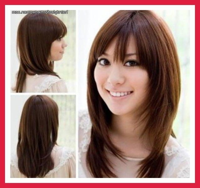Current Long Haircuts For Round Faces And Thin Hair Regarding 11 Best Hair Cuts For Round Faces Images On Pinterest | Braids (View 5 of 15)