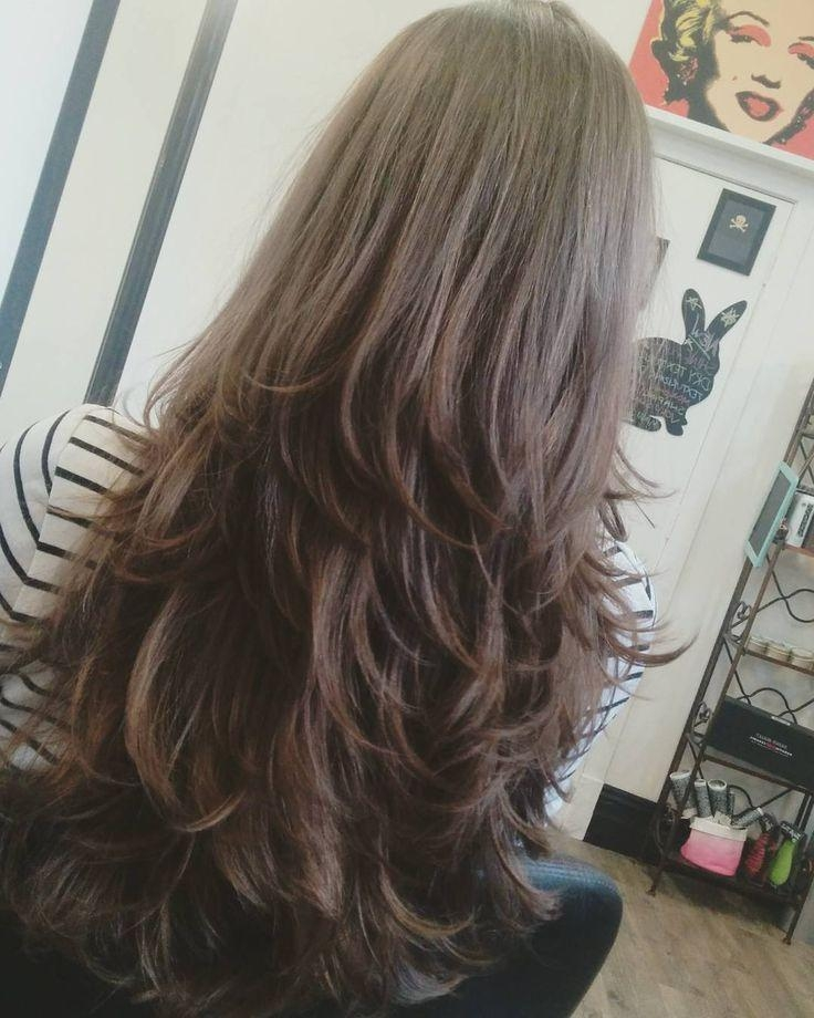 Current Long Haircuts Styles With Layers With 25+ Trending Long Hair With Layers Ideas On Pinterest | Hair (View 5 of 15)