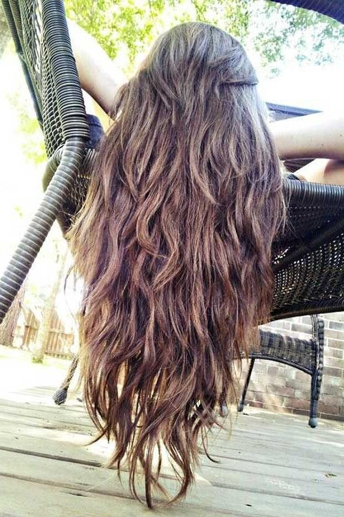 Current Long Haircuts With Lots Of Layers Regarding 25+ Unique Long Layered Haircuts Ideas On Pinterest | Long Layered (View 2 of 15)