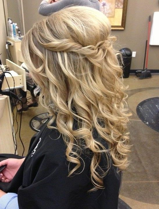 Current Long Hairstyles For Dances Pertaining To Best 25+ Simple Prom Hairstyles Ideas On Pinterest | Simple (View 12 of 20)