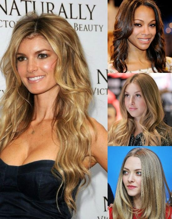 Current Long Hairstyles For High Foreheads Within The 8 Most Flattering Cuts For Oval Faces With Cheap Human Hair (View 6 of 15)