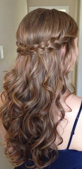 Current Long Hairstyles For Homecoming For Best 25+ Homecoming Hairstyles Ideas On Pinterest | Hair Styles (View 5 of 20)