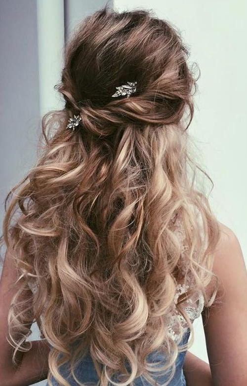 2018 Latest Long Hairstyles For Homecoming