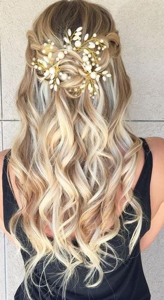 Current Long Hairstyles For Homecoming Intended For 25+ Trending Prom Hairstyles Ideas On Pinterest | Hair Styles For (View 8 of 20)