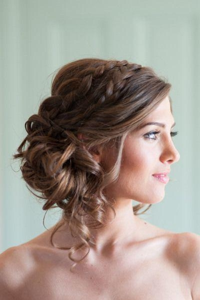 Current Long Hairstyles Formal Occasions Intended For 9 Best Hair Images On Pinterest | Wedding Dresses, Wedding Flowers (View 8 of 20)