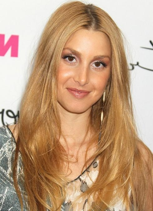 Current Long Hairstyles Side Part Within Whitney Port Long Hairstyle: Straight Hair With Side Part – Pretty (View 5 of 20)