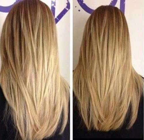 Current Long Hairstyles Without Layers Within 35 Long Layered Cuts | Hairstyles & Haircuts 2016 –  (View 6 of 15)