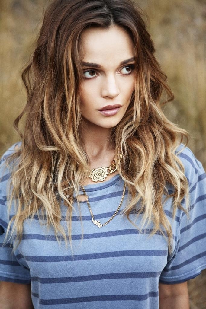 Current Medium To Long Haircuts For Thick Hair For Haircuts For Long Thick Hair 2016 – Popular Long Hairstyle Idea (View 6 of 15)