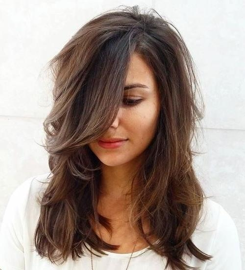 Current Medium To Long Haircuts For Thick Hair Inside 70 Brightest Medium Layered Haircuts To Light You Up | Medium (View 7 of 15)