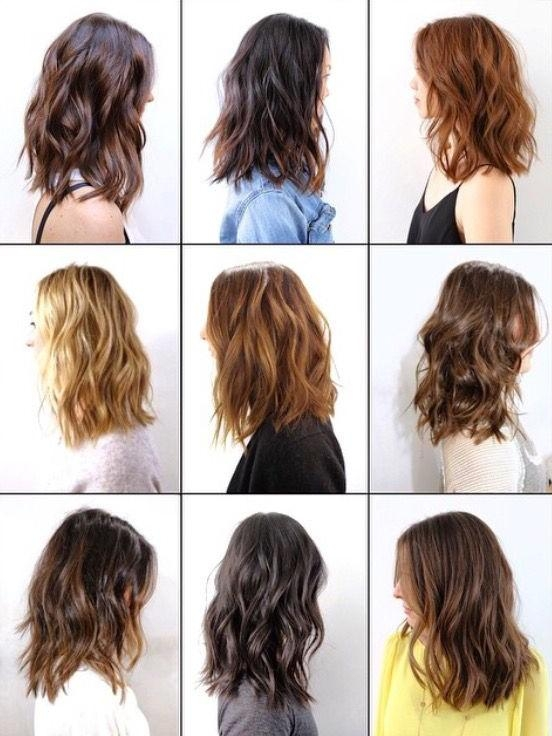 Current Textured Long Hairstyles For 14 Best Lob Cut Images On Pinterest | Hair, Braids And Hair Care (View 5 of 20)
