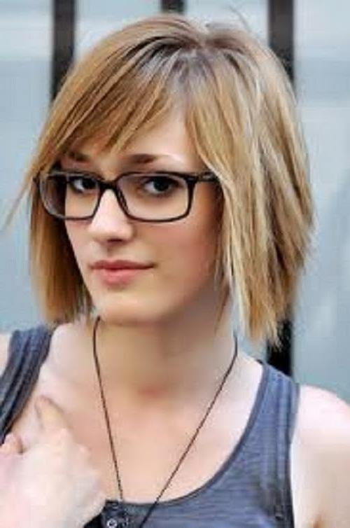 Photo Gallery Of Short Haircuts For Glasses Viewing 6 Of 20