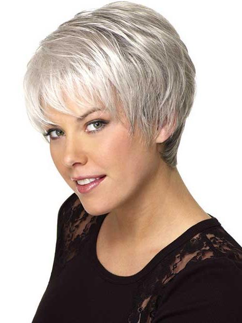 Cute Haircuts Gray Hair | Cute Hairstyle In Short Haircuts For Grey Hair (View 13 of 20)