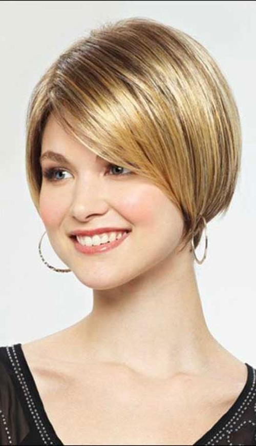 Cute Short Bob Hairstyles For Straight Hair – Cool & Trendy Short Throughout Cute Short Haircuts For Thin Straight Hair (View 13 of 20)