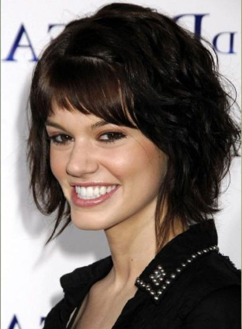 Cute Short Haircut For Thick Wavy Hair] 10 Short Hairstyles For In Short Hairstyles For Thick Wavy Frizzy Hair (View 14 of 20)