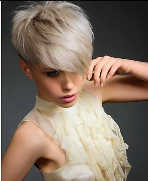 Cute Short Haircuts: Cute & Sexy Short Sleek Haircuts 2015 Within Cute Sexy Short Haircuts (View 15 of 20)