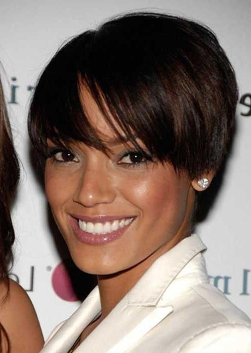 Cute Short Haircuts For Black Women With Round Faces ~ Hair Is Our Inside Black Short Haircuts For Round Faces (View 11 of 20)