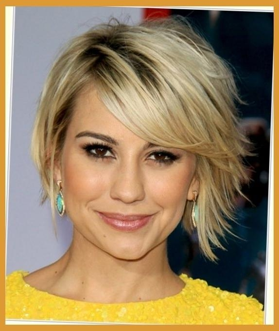Cute Short Haircuts For Narrow Faces – Best Short Hair 2017 With Short Hairstyles For Small Faces (View 13 of 20)