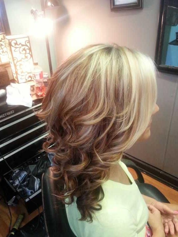 2018 Popular Short Haircuts With Red And Blonde Highlights - photo #40
