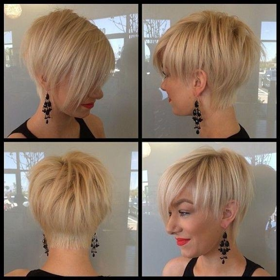 Cute Short Hairstyles For Fine Hair 2015 | Hairjos Pertaining To Short Haircuts With Bangs For Fine Hair (View 16 of 20)