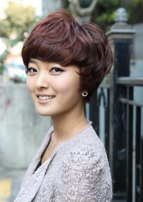 Cute Short Hairstyles With Bangs For Short Haircuts With Full Bangs (View 12 of 20)