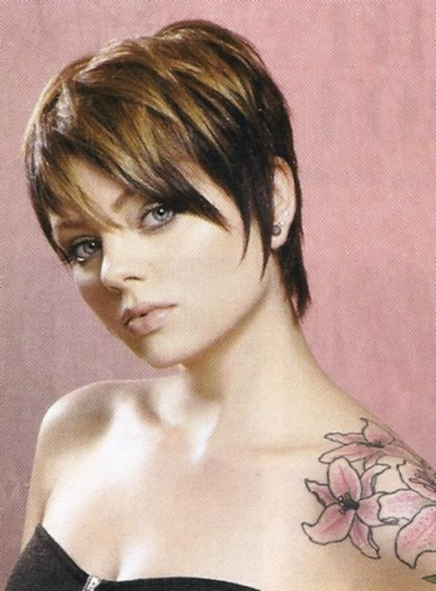 Cute Short Layered Wispy Haircut Throughout Wispy Short Haircuts (View 10 of 20)