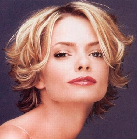 Cuts For Short Curly Hair | Short Hairstyles 2016 – 2017 | Most With Regard To Flipped Short Hairstyles (View 5 of 20)