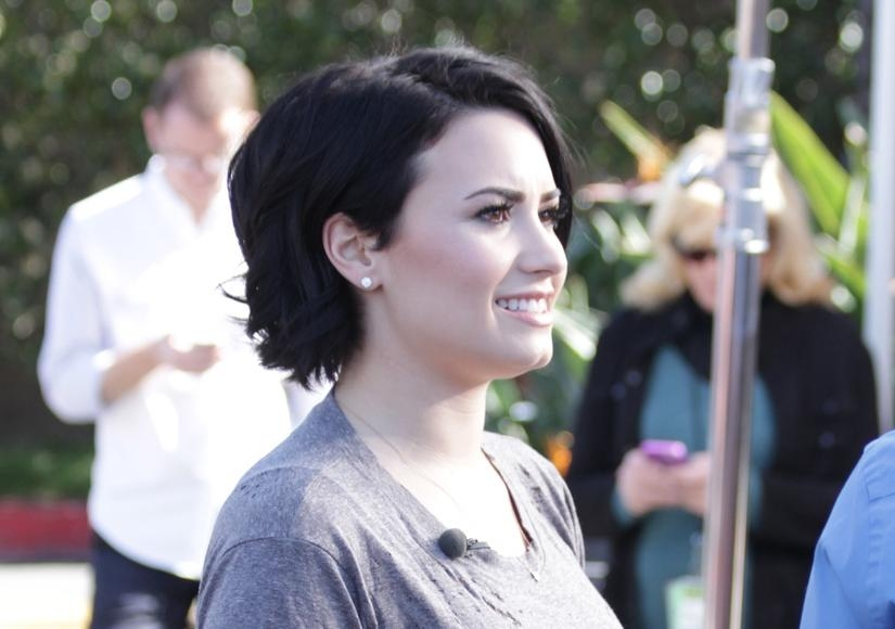 Demi Lovato's Super Cute Haircut Is A Hit! | Extratv Intended For Demi Lovato Short Haircuts (View 17 of 20)
